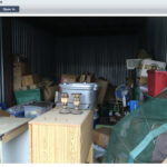 Old Storage unit picture during my moving survey